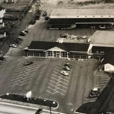 1970 (Location #2- Main Rd) Aerial shot