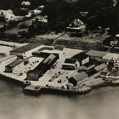 1953 (Original Location- Riverside Drive) Aerial shot