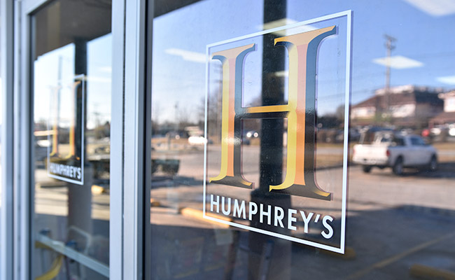 Humphrey's door logo