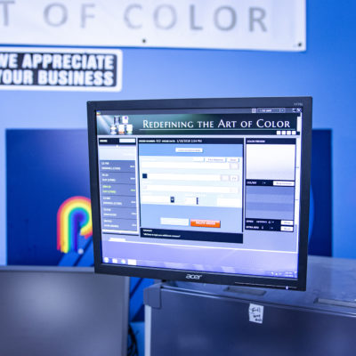 Paint Center Computer