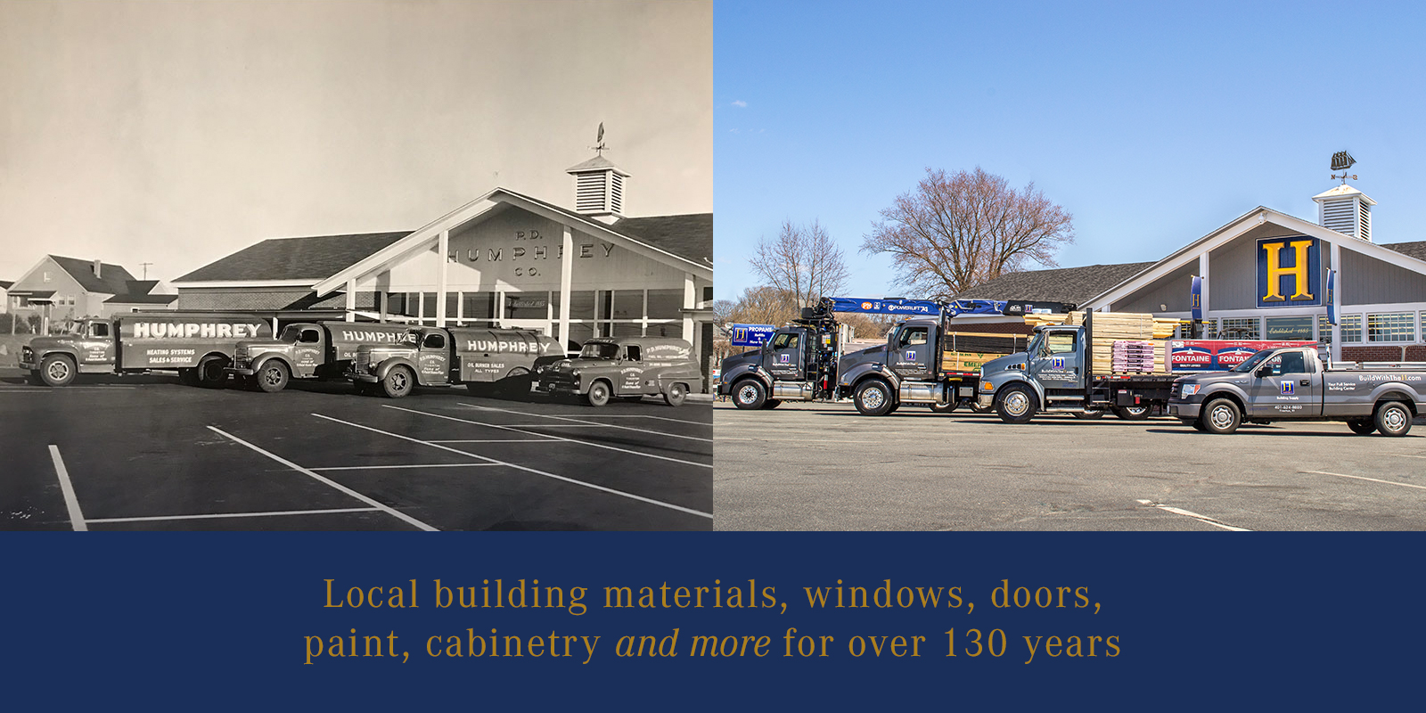 Local building materials, windows, doors, paint, cabinetry and more for over 130 years